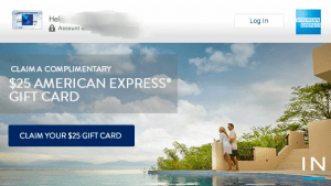 Receive a Complimentary American Express Gift Card