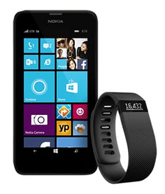 Fitbit Charge Lumia 635 Microsoft