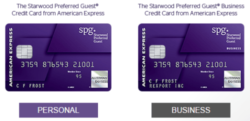 Amex spg business personal cards 35k points bonus ends 330 starwood preferred guest colourmoves