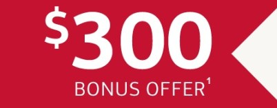 Bank of America    300 Offer