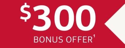 Bank of America 300 Offer
