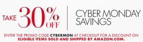 Amazon.com  30  Off Cyber Monday