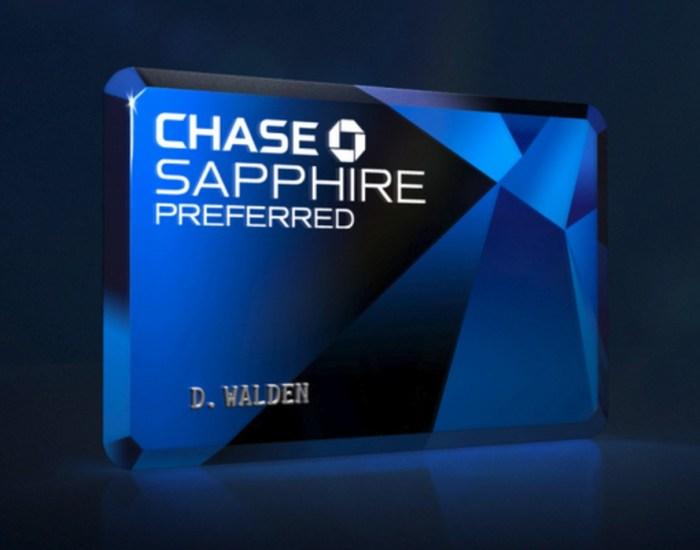 Chase Sapphire Preferred, 60K Bonus