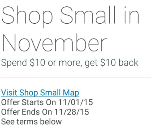 Shop Small in November Replaces Small Business Saay ... on map games, map jewelry, map books, map services,
