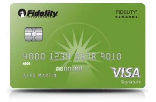 Targeted Spending Bonuses for Fidelity Rewards Card