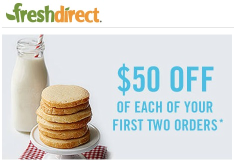 FreshDirect 50 Off