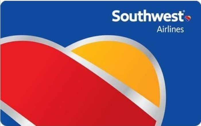 10% Off Southwest Gift Cards