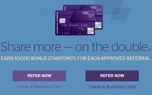 Limited Time  Refer a Friend  Earn Double the Starpoints