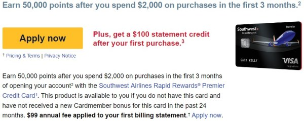 Southwest Airlines Rapid Rewards E mail.jpeg