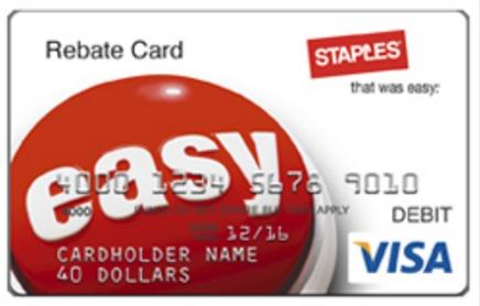 staples visa mastercard deal