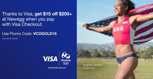 Thanks to Visa  get  15 off  200  at Newegg when you pay with VisaCheckout   Newegg.com.jpeg