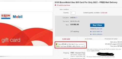Free ebay bucks