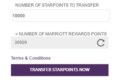 Starwood Hotels Resorts transfer points.jpeg