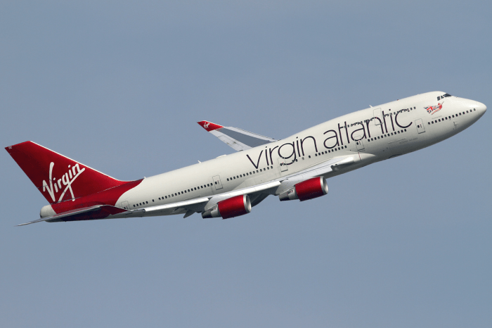 Virgin Atlantic black friday sale