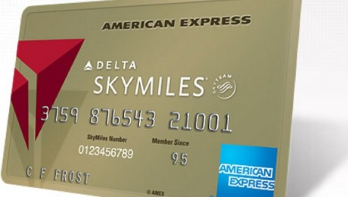 Targeted Offer For Amex Delta Gold