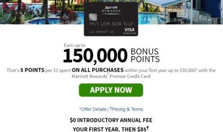 Marriott Rewards Premier Credit Card from Chase 150K offer.jpeg