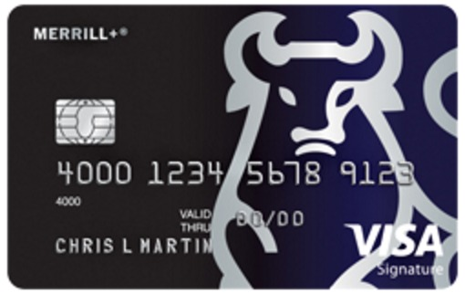 MERRILL+ Visa Signature Credit Card