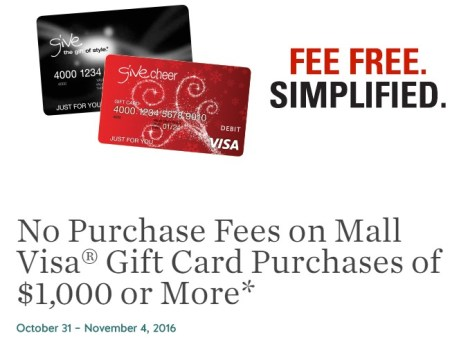 No Purchase Fees on Mall Visa® Gift Card Purchases.jpeg