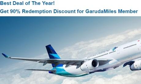 Best Deal of The Year  Dapatkan Diskon Redemption 90  untuk Anggota GarudaMiles » GarudaMiles.jpeg