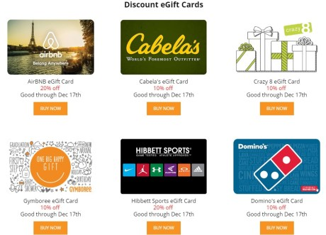 Up To 20 Off Select Gift Cards At Giftcardmall Danny The Deal Guru