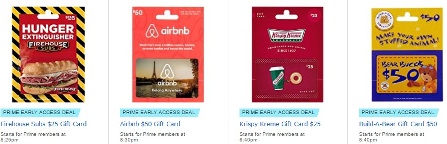 Amazon Lightning Deals Discount On Airbnb Gift Cards And Few Others