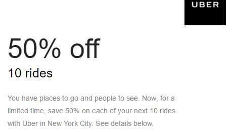 Uber Discount