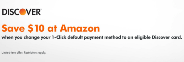 discover amazon credit
