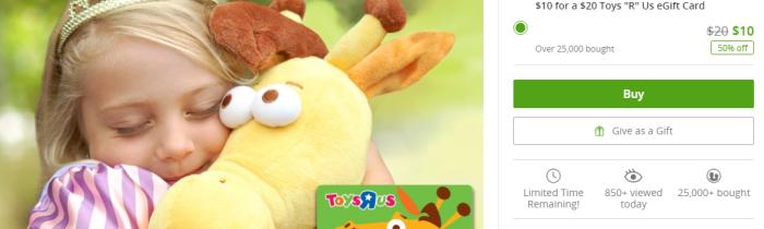 groupon toys'r'us