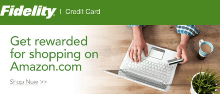 Fidelity Rewards amazon offer