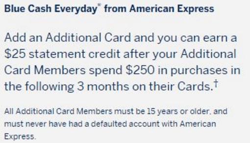 Authorized User Bonus