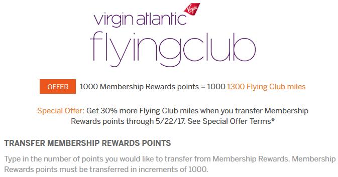 virgin atlantic transfer bonus