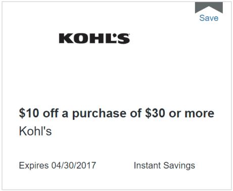 discover kohls 10