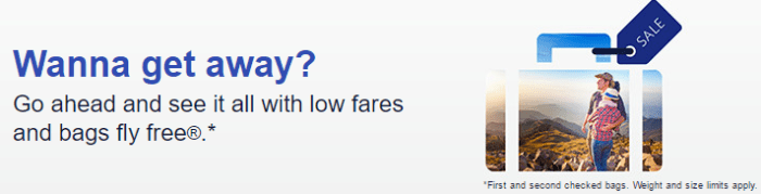 southwest fare sale
