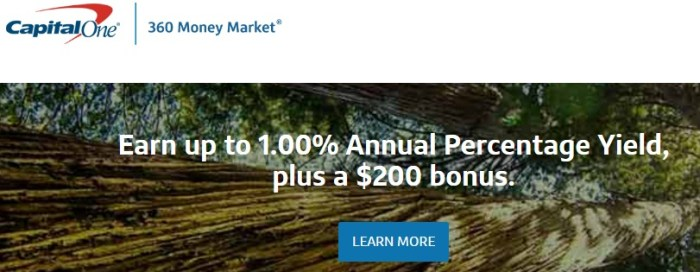Capital One 360 Bonus