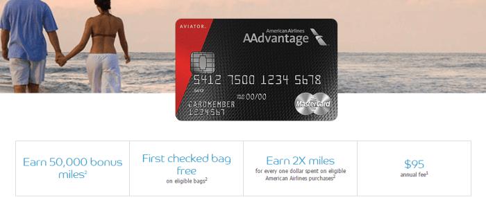Barclaycard aviator red 50k bonus