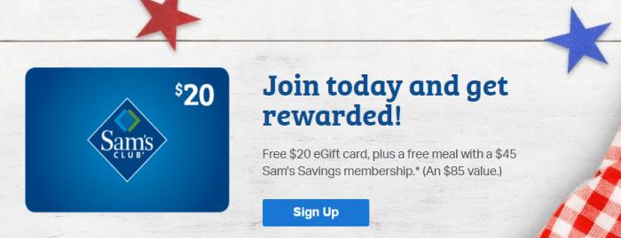 discounted sam's club membership