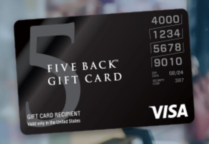 Five Back Visa