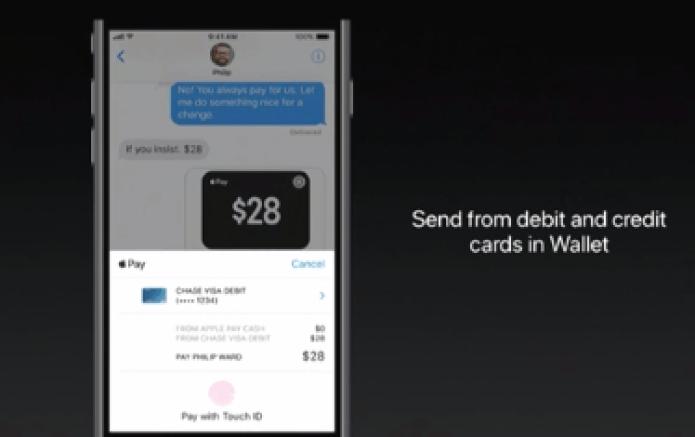 Apple WWDC 2019 Apple Pay P2P