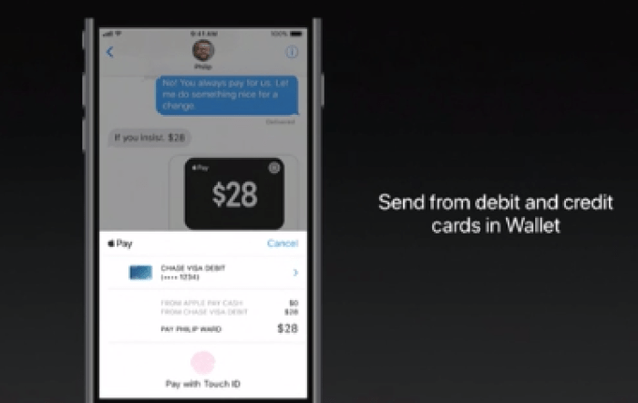 Apple WWDC 2019 Apple Pay P2P.png