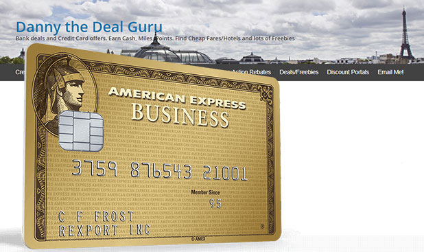 Amex Business Gold Rewards Exclusive Offer, Extra 4X MR Points (Targeted)