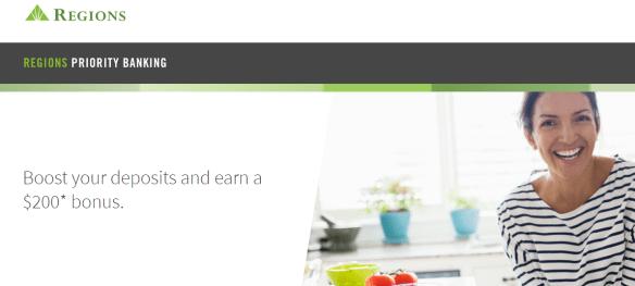 regions bank bonus 200
