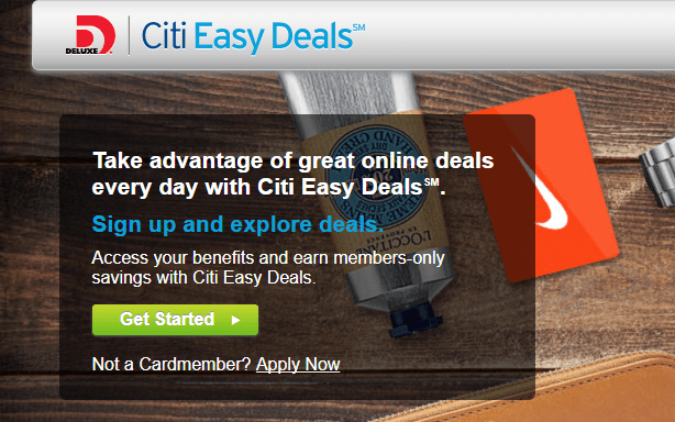 Citi Easy Deals: $15 Off $50 Gift Cards (Best Buy, Uber, Target)