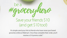 Walmart Grocery Referral Bonus