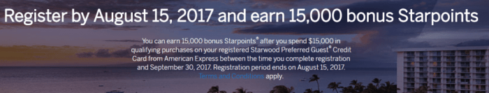 spg 15k offer