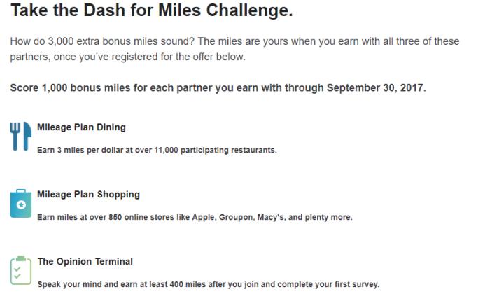 Alaska Airlines 3000 miles promo