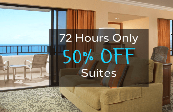 Hilton Hawaiian Village 50% off promo