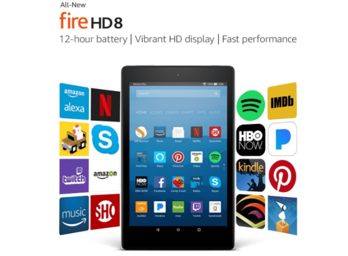 discounted amazon fire tablets