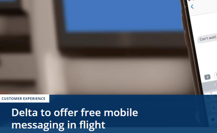delta free mobile messaging