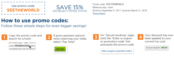 travelocity 15% discount