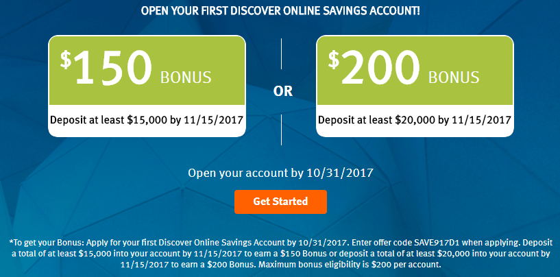 Expired] Discover, Get Up To $6 With Your First Savings Account